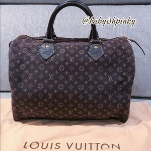 RETIRED Louis Vuitton Idylle Speedy 30